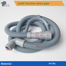 Factory direct flexible drain outlet water hose for washing machine