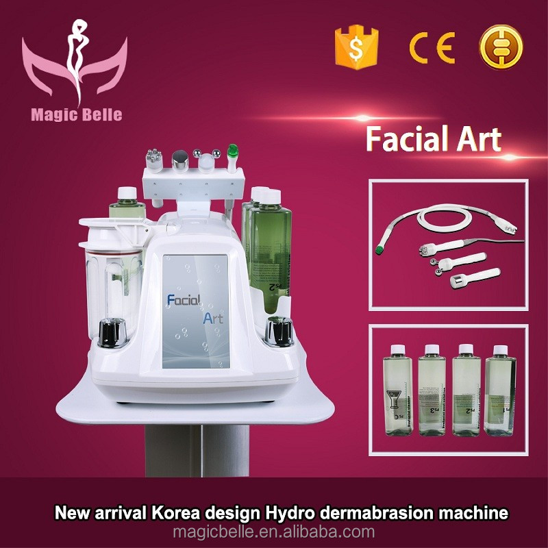 Korea Style Skin Peeling Dermabrasion Machine Hydra Facial dermabrasion Machine for Skin Deep Cleaning
