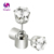 1PCS Charm LED Earring Light Up Crown Glowing Crystal Stainless Ear Drop Ear Stud Earring Jewelry