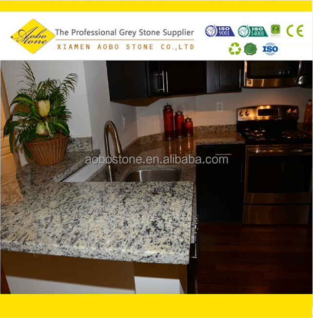 Giallo cecilia granite countertops