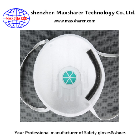 Disposable n95 dust-proof mask dust face mask white mining dust mask