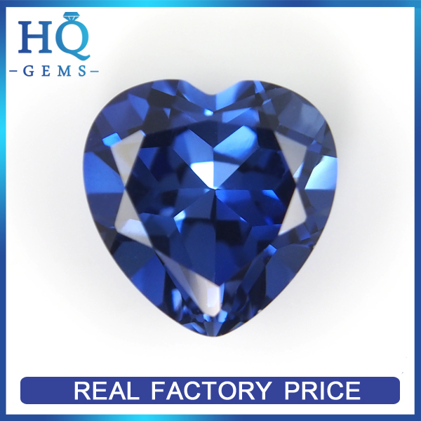 Heart cut blue sapphire precious stone spinel gemstone names pictures