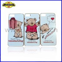 IMD Hard Case for Apple iPhone 5,Lovely Bear Pattern,High quality----Laudtec