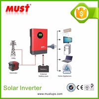 Inverter Bulb 4KVA 48VDC AC Frequency Inverter Converter