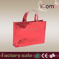 Metallic promotional non woven tote bags(ITEM NO:N150114)