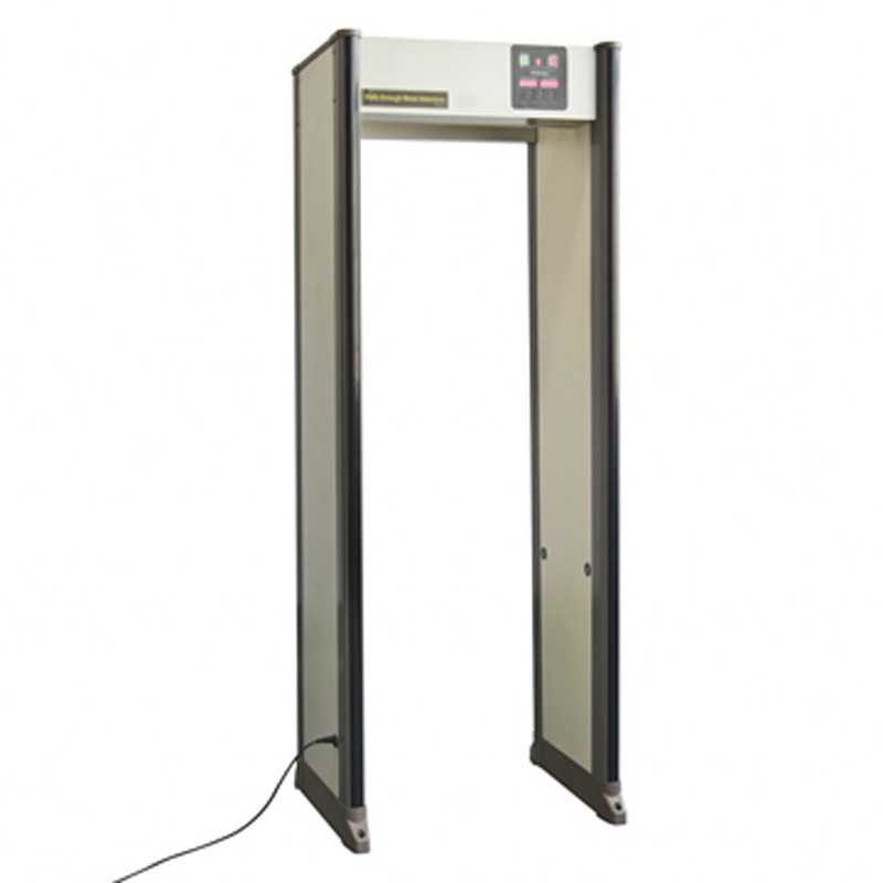 Pinpoint 33 zone Walk-Through Metal Detector