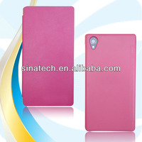2013 New products cell phone case for Sony xperia z1 l39h leather case OEM design