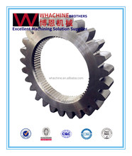 OEM&ODM aiks forklift differential spare parts ring gear & pinion set by WhachineBrothers
