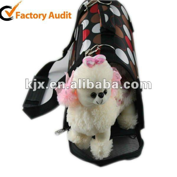 2016 Wholesale Cute Dog Bag Carrier Portable Satin Pet Bag