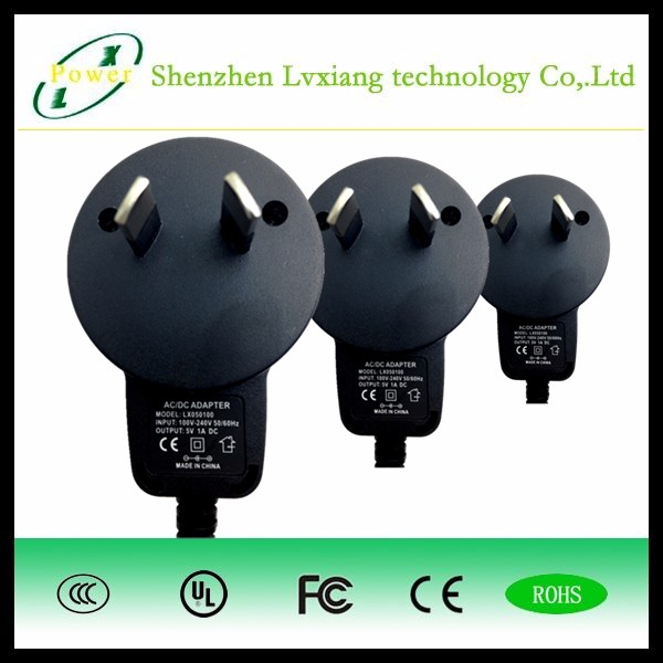 LX variable 5v 1a USB charger adapter AUS PLUG