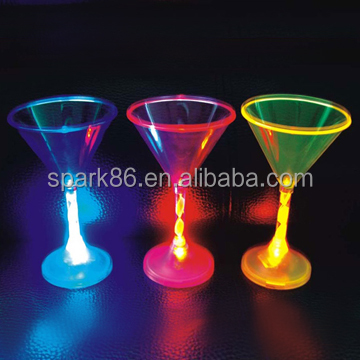 flashing water cup led blinking cup light up cup
