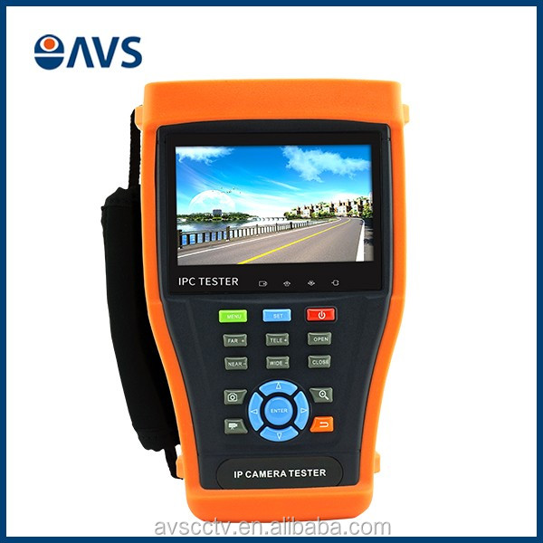 4.3'' HD Touch Screen IP Camera Tester with Different Modules Optional