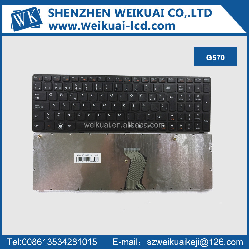 New original laptop keyboard G570 for Lenovo laptop parts
