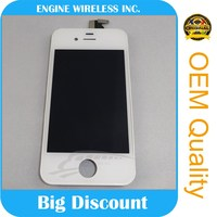 Strong incoming new lcd digitizer assembly for iphone 4s and wholesale at the bottom price