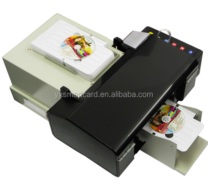 Best Selling CR80 Size Inkjet PVC Plastic ID Card Printer Price