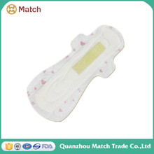 China Manufacturer Disposable Products Feminine Mini Sex Pads Sanitary Napkin With Negative Ion