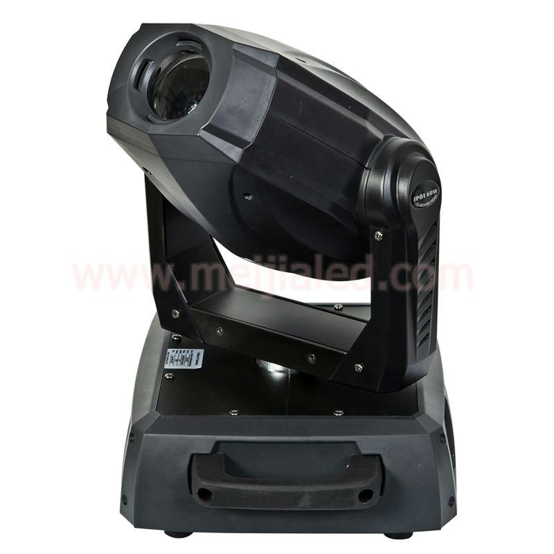 Hight power 60w led moving head spot light pan and tilt motorized head