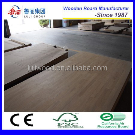 Red oak finger joint board for furniture use