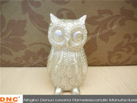 Holiday party wholesale decoration wax owl light candle holder lamp