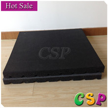 Heavy duty used rubber mats for sale,padded carpeted gym mats