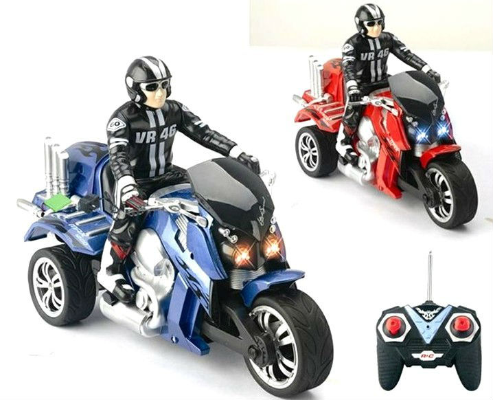 1:10 Scale 4CH RC motorcycle 1 4 rc motorcycle