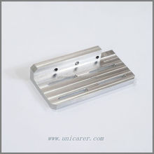 Aluminium orientation block Custom CNC Machining parts