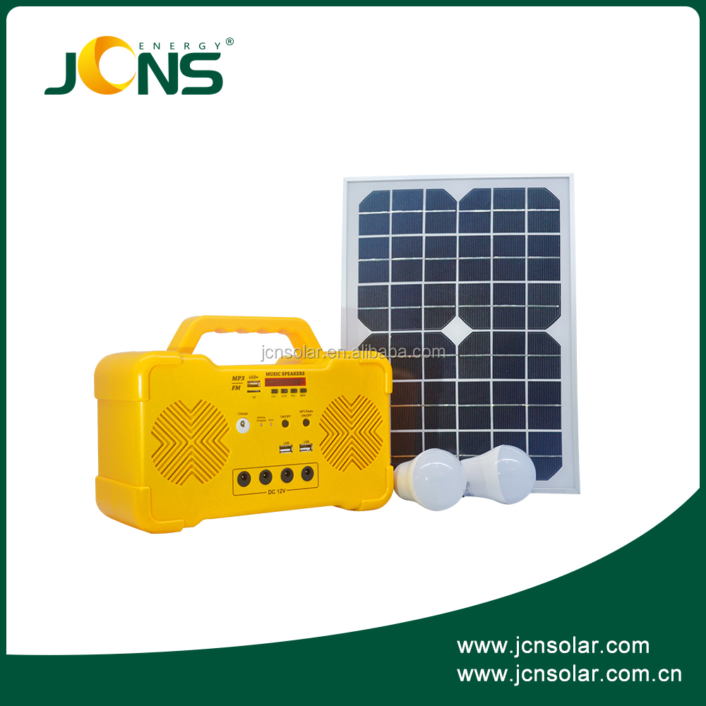 Off grid mini solar power Generator 10w household solar electrical generator power storage system