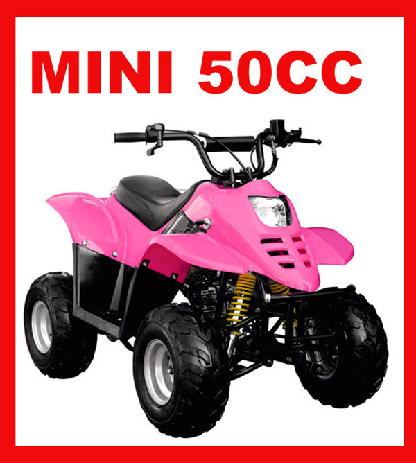 New Mini Kids Gas Powered ATV 50cc with CE certificate