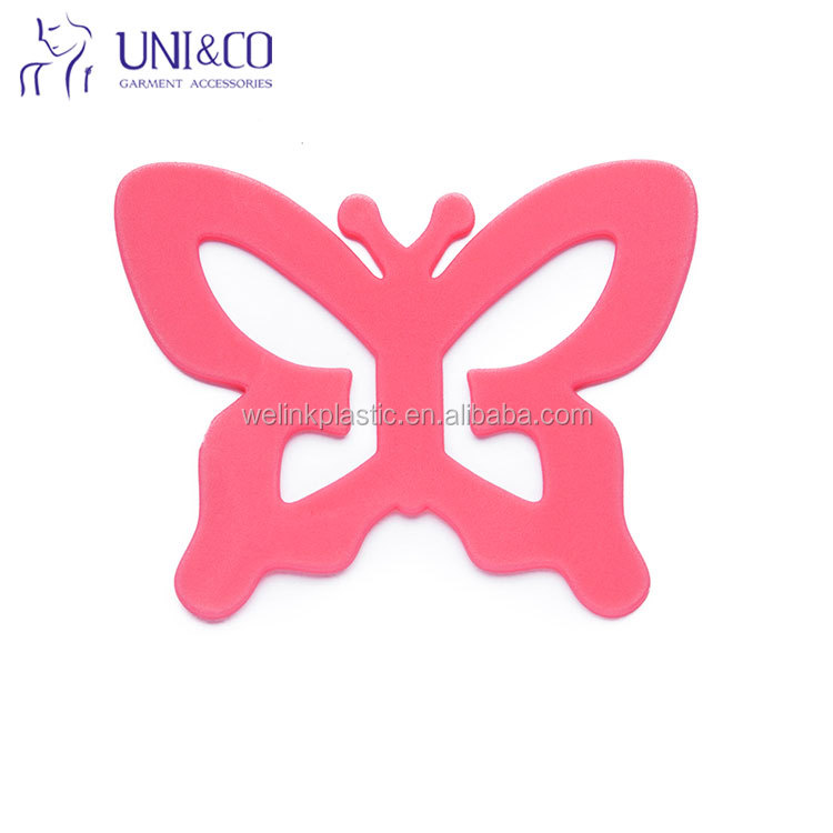 Striking butterfly design many colors princess feel fashion bra strap holder clip