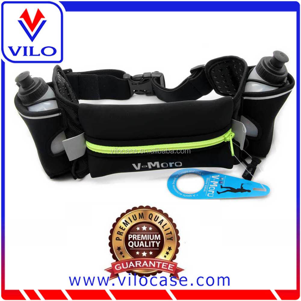 Wholesale runner travel money belt waist bag running belt traveling bag