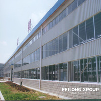 High quality fabric frame and steel structure building and low cost light hanger