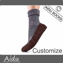 Customize Girls Womens Luxury Home Wear Comfortable Cotton Slipper Sock
