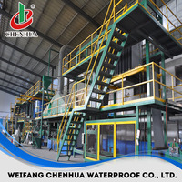 China bitumen waterproof membrane making machine