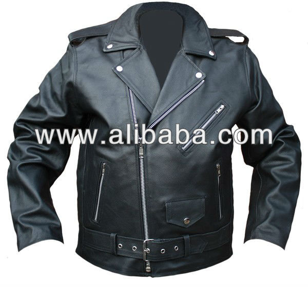 Leather Motorcycle Classic Jacket