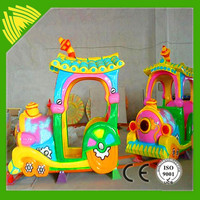 Indoor Playground Electric Mini Train For