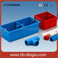 British Standard 2-Gang Electrical PVC Switch Box