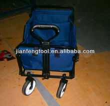 2013 best seller four big wheels telescoping shopping hand trolley