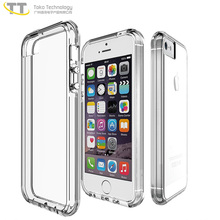 Back cover case for iphone 5,for iphone 5 / 5 se / 5 s transparent clear cell phone cover case bumpers