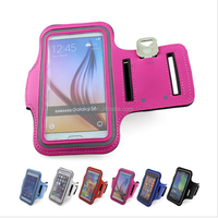 For iPhone 6 Waterproof Sport Arm band Case For Samsung Galaxy S3 S4 S5 S6/S6 Edge Phone Cover For HTC M7/M8 Running Tune Belt