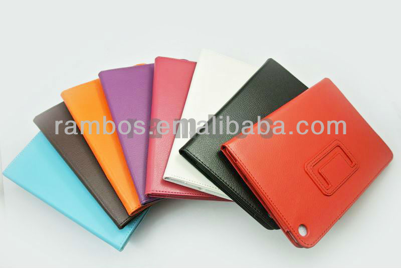 7.9 inch PU Leather Pouch Cover Case for iPad mini Stand Photo Frame Design