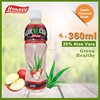 Apple fruit low calories flavor aloe soft