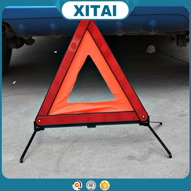 XITAI Hot sale Foldable Traffic Car Triangle Warning Sign with best price