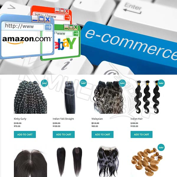 B2C ecommerce website design service, professional in beauty business web