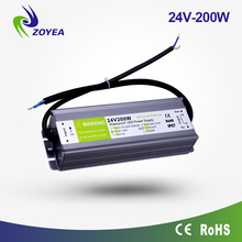 5v 12V 24V 36V 48V 200W power supply led driver constant voltage transformer 24v