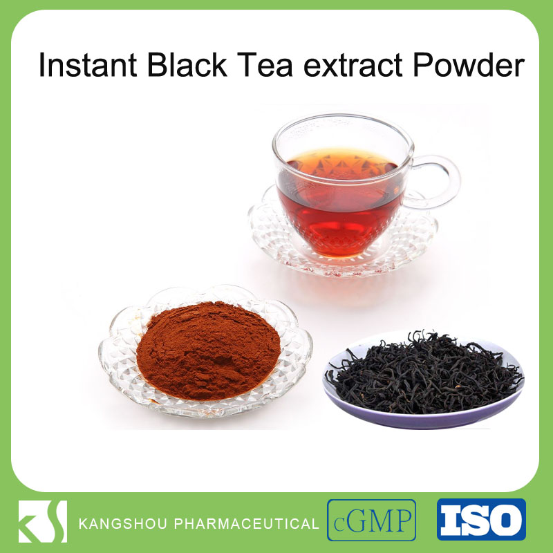 High quality 100% Natrual instant black tea extract powder,Black tea Powder,Instant Black Tea
