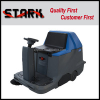 1100/1000 compact driving type industrial mechanical broom dust sweeper