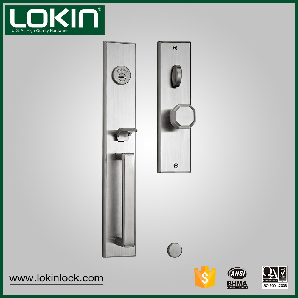 China factory new products external security stainless steel entry door handle