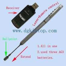 4-in-1 telescopic laser pointer pen