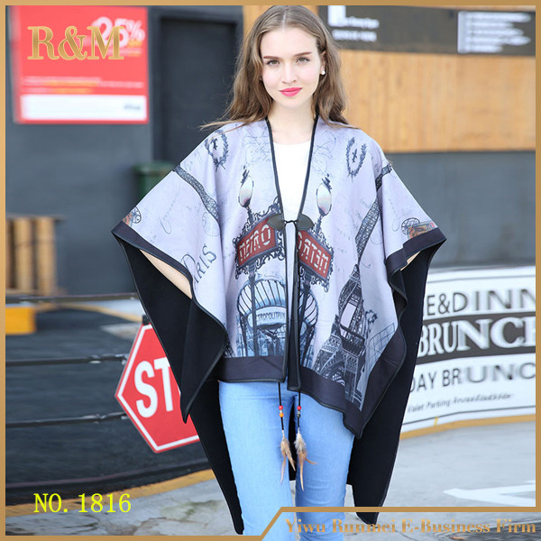 Winter Women blanket scarf lady stoles and shawls