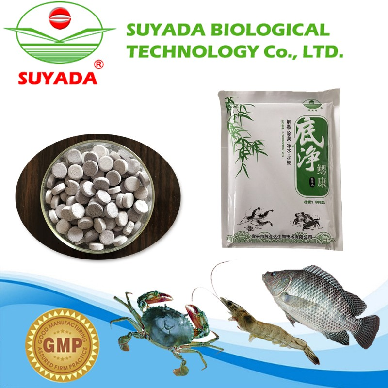 promotional tablets used in aquaculture